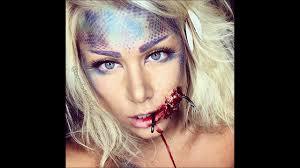 sfx ariel halloween makeup tutorial