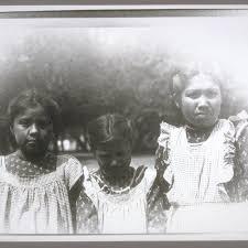 3 school girls: Violet Davis (82), Inez Socktich (21), Martha ...
