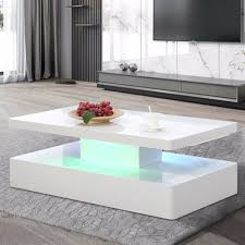 tables white high gloss hardwood legs