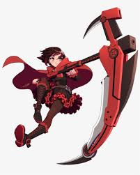 Rwby Ruby Rose Full Color Vinyl Decal Collector S Heaven