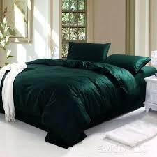 dark green bedding sets marvelous