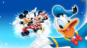 donald duck mickey and minnie mouse