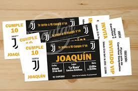 Invitacion Cumpleanos Futbol Imprimible Entrada 86 00 En