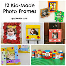 picture frame art craft easy craft ideas