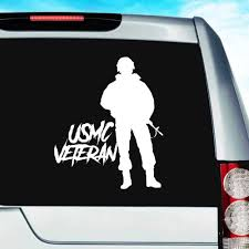 Usmc Marines Veteran Soldier Military Car Truck Window Decal Sticker