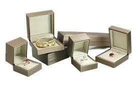 handmade small leather jewelry box case