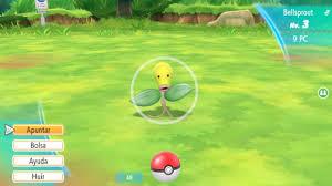 Pokémon Let's Go Pikachu / Eevee: no será obligatorio utilizar el ...