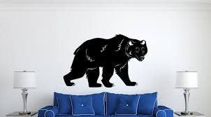Bear Wall Decal Vinyl Decals Nuovocreations Com Nuovocreations