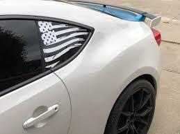 2016 Camaro American Flag Decal Everything Vinyl Decal