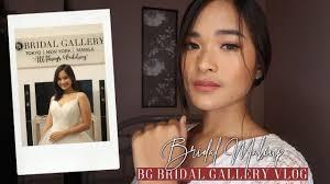 bg bridal gallery vlog bridal makeup
