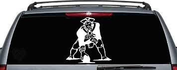 New England Patriots Inspired Car Window Decal Sport Team Vinyl Car Decal Ebay Car Decals Vinyl Car Window Decals Car Decals