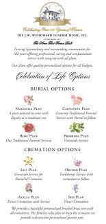 celebration of life options