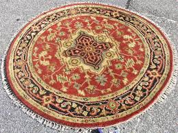 gorgeous large round area rugs interior