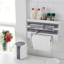 4 in 1 kitchen roll dispenser wall