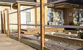 How To Install A Plinth And Rails For A Fence Bunnings Warehouse