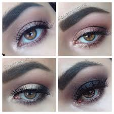 makeup to match a black and white dress