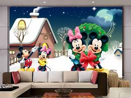 Custom Papel De Parede Infantil Winter Snow Mouse For Children S Room Boys And Girls Bedroom Background Wall Fabric Wallpaper Mouse Razer Mouse Dpimouse Game Aliexpress