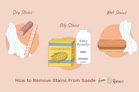 how to remove stains from suede shoes