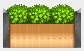 Cartoon Wooden Fences Thing Garden Small House Clipart Garden Wall Cliparts Cartoons Jing Fm