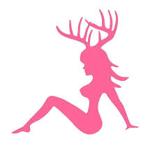 Hunt Buck Girl Decal Hunting Club Antlers Sticker Hollow Sticker Hunter Car Window Vinyl Decal Funny Poster Motorcycle Vinyl Decal Decals Motorcyclemotorcycle Motorcycle Aliexpress