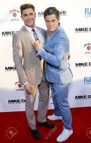 Zac Efron And Adam DeVine At The Los Angeles Premiere Of 'Mike ...