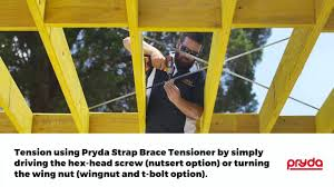 Pryda Strap Brace Tensioner And Bolt 6 Pack Bunnings Warehouse