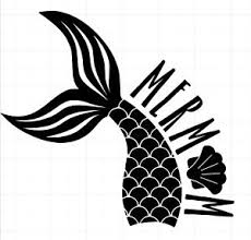Mermom With Mermaid Tail Decal For Car Truck 20 Color Options Mermaid Mom Ebay