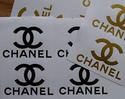 Chanel Sticker Etsy