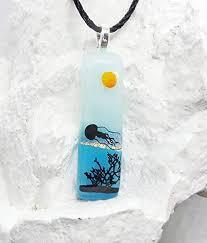 com fused glass jewelry scenic