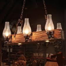 industrial loft dark distressed wood