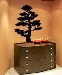 Vinyl Wall Decal Sticker Tiered Bonsai Ac225 Stickerbrand