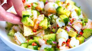 Fresh and Easy Shrimp Ceviche