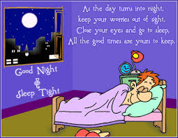 cartoon good night clip art