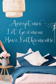 Accept Let Go Have Faith Wall Decal Inspirational Decor In 2020 Inspirational Wall Quotes Vinyl Wall Lettering Wall Decals