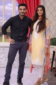 Sanam Saeed with Adeel Hussain. | Sanam saeed, Traditional outfits, Fashion
