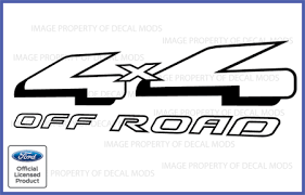 Ford Ranger 4x4 Off Road Vinyl Decal Truck Sticker 1997 2008 Ebay