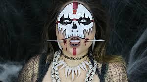 voodoo witch doctor halloween makeup