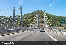 Salerno Reggio Calabria interstate highway bridge, Italy — Stock Photo ©  jovannig #158276532
