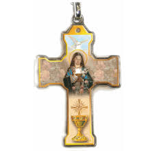 confirmation catholic keychain from italy
