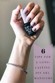 long lasting diy gel manicure