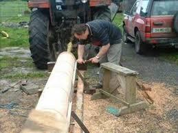 turning timber column on lathe you