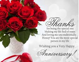 Happy wedding anniversary wishes to husband