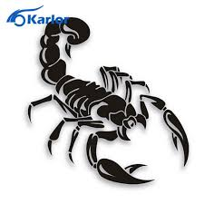 Scorpion Car Decal Scorpion Tattoo Scorpio Tattoo Body Art Tattoos