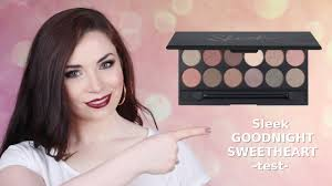 sleek goodnight sweetheart make up