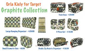 orla kiely for target cosmetic bag