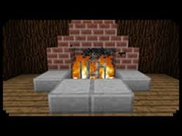 minecraft how to make a fireplace