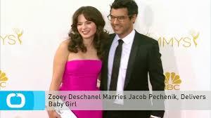Zooey Deschanel Marries Jacob Pechenik, Delivers Baby Girl - video  dailymotion
