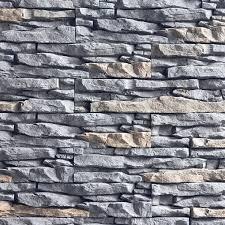 exterior faux stone panels get a
