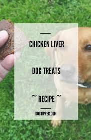 en liver dog treats recipe