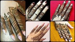 mehndi design finger new
